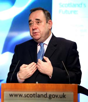 Scotland's First Minister Alex Salmond's plan for independence could have implications for Northern Ireland