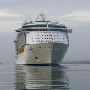 Twelve passengers on the cruise ship Independence of the Seas moored in Gibraltar were injured after a dockside tank exploded