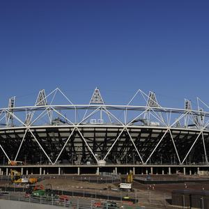 Newly-agreed contracts mean Britain is 'on track' to ensure a lasting legacy from the 2012 Olympics, David Cameron said