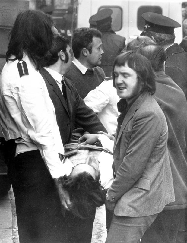 <b>The Belfast Telegraph Troubles Gallery</b><br/>The explosion of a bomb in the crowded central Belfast restaurant, the Abercorn, on 4th March 1972, was one of the most horrific incidents of the Northern Ireland violence. Two women were killed - 130 people injured.