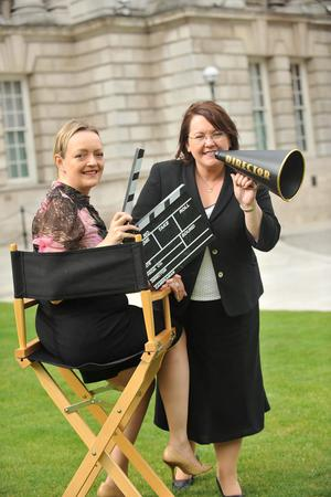 Directing calls for nominations for the Allianz Arts & Business NI Awards 2011 were Mary Trainor, director of Arts & Business and Sharon McTaggart, operations manager at Allianz
