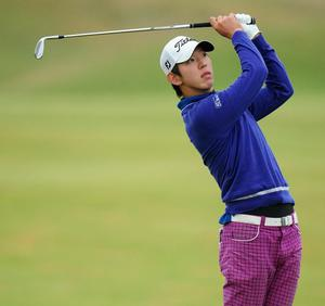 Seung-Yul Noh at The Open. July 2010