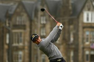 Camilo Villegas at The Open. July 2010