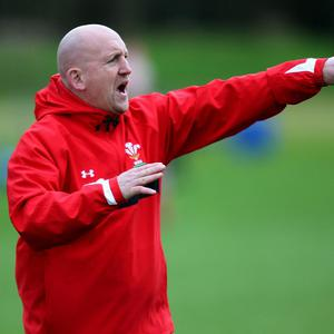 Wales assistant coach Shaun Edwards has praised his players' 'really good attitude'