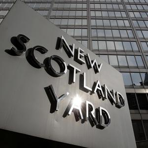 Two men are being held on terrorism charges in London