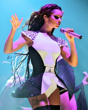 Girls Aloud - official tour image