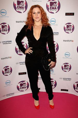 BELFAST, NORTHERN IRELAND - NOVEMBER 06:  Singer Katy B attends the MTV Europe Music Awards 2011 at the Odyssey Arena on November 6, 2011 in Belfast, Northern Ireland.  (Photo by Dave J Hogan/Getty Images)
