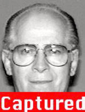 UNDATED: In this handout from the Federal Bureau of Investigation (FBI), Fugitive James Bulger is seen in a 1994 photograph. The FBI announced June 23, 2011 that Bulger was captured in his home in Santa Monica, California by the FBI after a 26-year manhunt when a tip lead law enforcement to the reputed mobster. (Photo by the FBI via Getty Images)