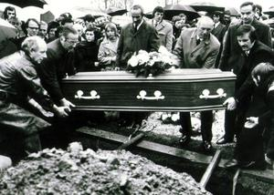 Reggie and Walter Chapman: Protestant brothers brutally murdered on a lonely roadside in S. Armagh. Kingsmill Massacre/Shooting. 5/1/1976. Their Bessbrook funeral. 8/1/1976.