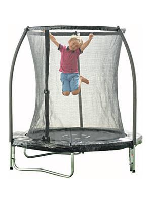 <b>4. Toys R Us Trampoline</b>  £79.99, toysrus.co.uk  A great value trampoline ideal for smaller gardens. It's good for kids of all ages and boasts galvanised steel inside and out for rust-free protection and increased strength.