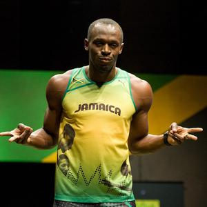 Sprinter Usain Bolt was uninjured in a minor road accident in Jamaica, according to reports