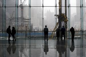 Ground Zero in New York, February 2009. Submitted by Grahame Booth from Killinchy