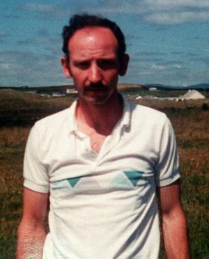 Cecil James Caldwell, one of the 7 workmen killed in the IRA 600lb bomb blast on the Omagh to Cookstown road at the Teebane crossing. Pacemaker Press