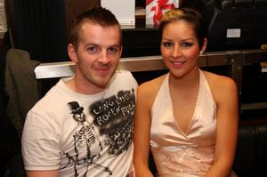 Patrice O'Hagan and Gavin Hasson in the Kitchen Bar, Belfast