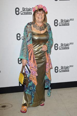 Hilary Alexander attends Britain Creates 2012: Fashion & Art Collusion  at Old Selfridges Hotel on June 27, 2012 in London, England.