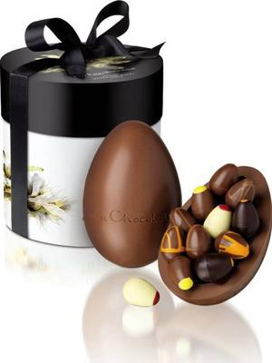 <b>Hotel Chocolat The Eggsibitionist £26, hotelchocolat.co.uk</b><br/> Filled with 12 scrumptious mini eggs, the presentation is fabulous, too - a ribbon-tied hatbox