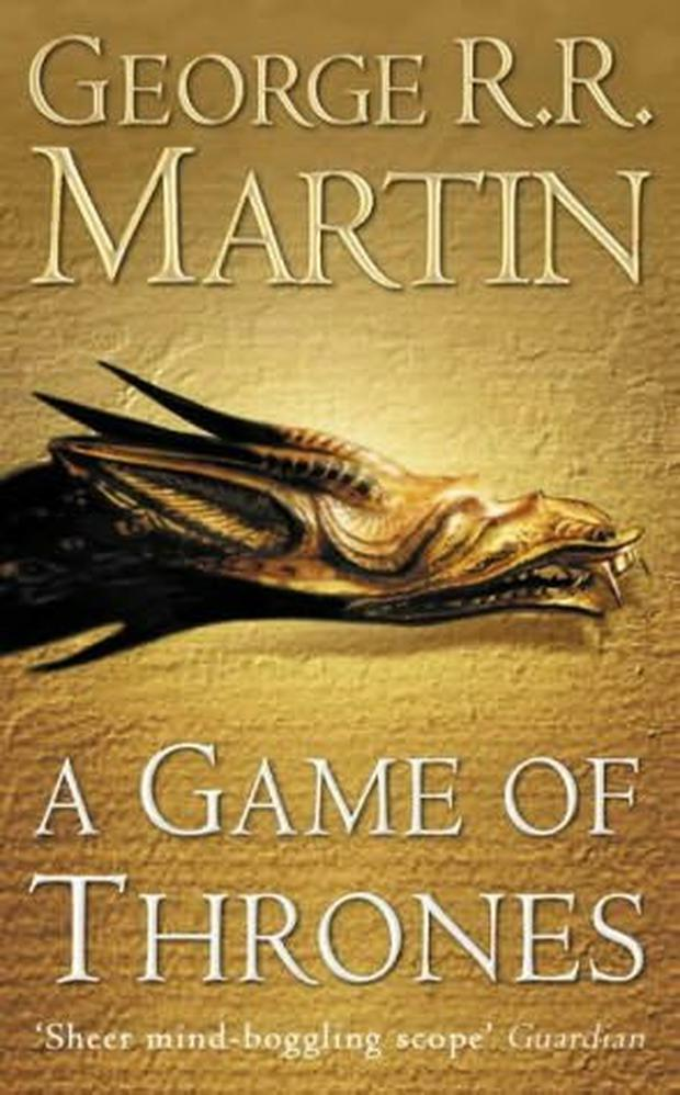The title 'Game of Thrones' is from the first novel in the series.