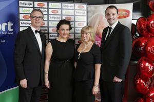 Mark Beattie, Donna McGuinness, Ruth McQuillan and Andrew Bree from Swim Ulster