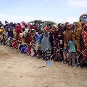 The United Nations has officially declared a state of famine in parts of Somalia, which has been hit by a major drought (AP)