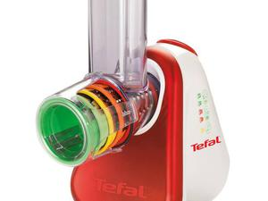 <b>2. Tefal Fresh Express £49.99, tefalfreshexpress.co.uk</b>  Just push the cheese/vegetable/ fruit down the tube on the top and the spinning mechanised blades will do the rest.