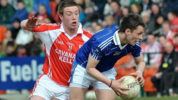 MacRory Cup final: St Patrick's Kiefer Morgan and St Colman's Micheal O'Hare