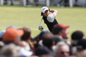 Rory McIlroy, second round of The Open, 16 July 2010