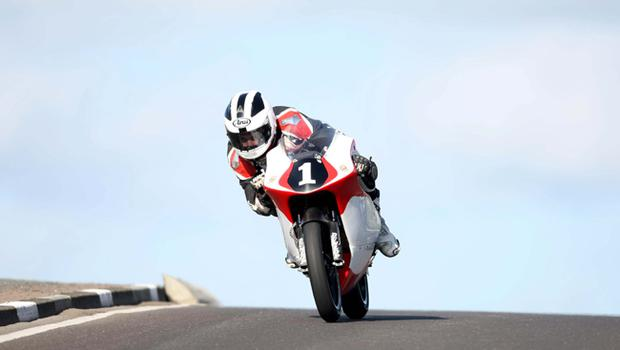 William Dunlop pictured at the opening practice night of the 2010 Relentless North West 200