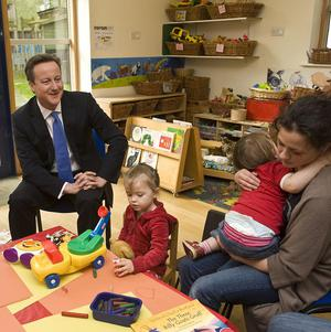 PM David Cameron has unveiled a number of initiatives aimed at helping families