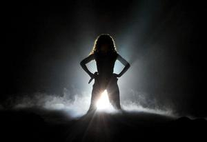 Beyonce at the Odyssey Arena Belfast on last date of her 2009 World Tour. 24-11-2009