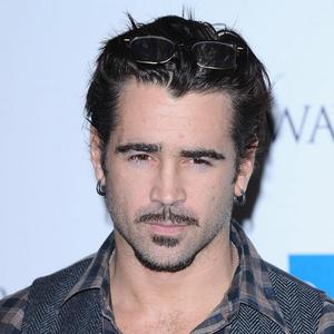 Colin Farrell came in second in the poll