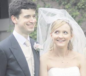 """The wedding of Laura Bush and James Nelson at Bloomfield Presbyterian Church  <p><b>To send us your Wedding Pics <a  href=""""http://www.belfasttelegraph.co.uk/usersubmission/the-belfast-telegraph-wants-to-hear-from-you-13927437.html"""" title=""""Click here to send your pics to Belfast Telegraph"""">Click here</a> </a></p></b>"""