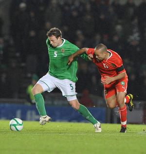<b>Jonny Evans - 7</b><br /> Great to see Evans given a decent run out in his natural position. Talked the younger and more inexperienced men around him through the game with his great organisational skills.