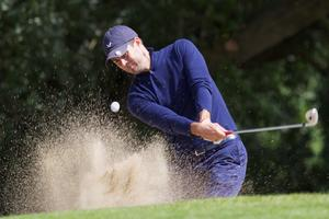 Former England soccer player Jamie Redknapp plays during the first round of The JP McManus Invitational Pro-Am event at the Adare Manor Hotel and Golf Resort on July 5, 2010 in Limerick