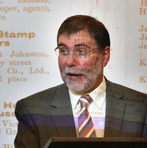 Sports minister Nelson McCausland has unveiled funding to modernise sports grounds