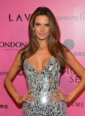 NEW YORK, NY - NOVEMBER 07:  Model Alessandra Ambrosio attends Samsung Galaxy features arrivals at the official Victoria's Secret fashion show after party on November 7, 2012 in New York City.  (Photo by Slaven Vlasic/Getty Images for Samsung Galaxy)
