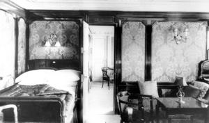 The Dutch Suite aboard the RMS Titanic. Photograph © National Museums Northern Ireland. Collection Harland & Wolff, Ulster Folk & Transport Museum