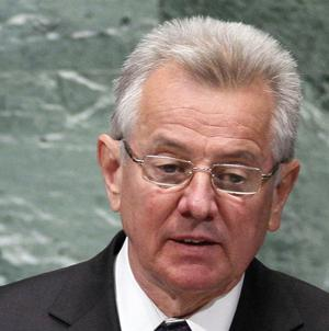 Hungary's president Pal Schmitt has quit amid a row over him once cheating at university (AP)
