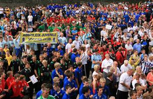 Foyle Cup Opening Parade.  July 2010. Presseye.com