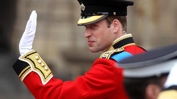 Prince William arrives at Westminster Abbey ahead of his wedding to Kate Middleton. PRESS ASSOCIATION Photo. Picture date: Friday April 29 2011. Photo credit should read: Lewis Whyld/PA Wire