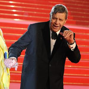 Jerry Lewis has been released from hospital and is about to begin rehearsing a new musical
