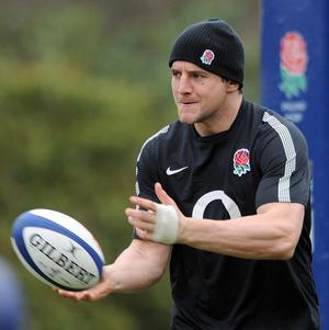 Phil Dowson has been ruled of the second Test against the Springboks