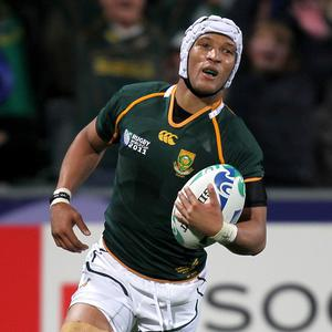 Gio Aplon will play full-back in South Africa's Test against England this weekend