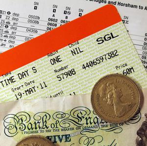 The annual rail fares rise means regulated fares will go up by an average of six per cent