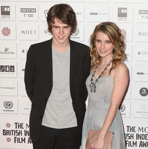 Freddie Highmore and Emma Roberts had to lock lips for their latest film