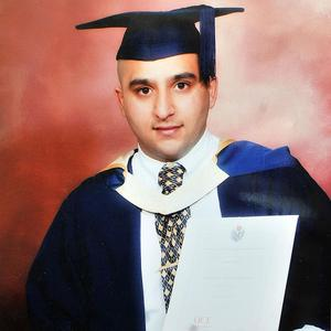 Shazad Ali, pictured, died alongside his brother Abdul Musavir and Haroon Jahan