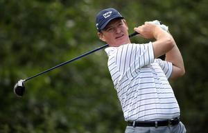 Ernie Els of South Africa in action during the first round of The JP McManus Invitational Pro-Am event at the Adare Manor Hotel and Golf Resort on July 5, 2010 in Limerick