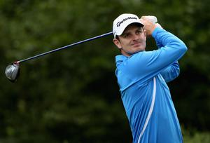 Justin Rose of England in action during the first round of The JP McManus Invitational Pro-Am event at the Adare Manor Hotel and Golf Resort on July 5, 2010 in Limerick