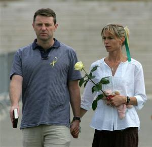 Gerry McCann and his wife, Kate
