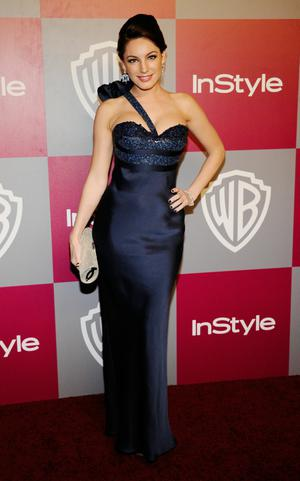 BEVERLY HILLS, CA - JANUARY 16:  Actress Kelly Brook arrives at the 2011 InStyle And Warner Bros. 68th Annual Golden Globe Awards post-party held at The Beverly Hilton hotel on January 16, 2011 in Beverly Hills, California.  (Photo by Kevork Djansezian/Getty Images)