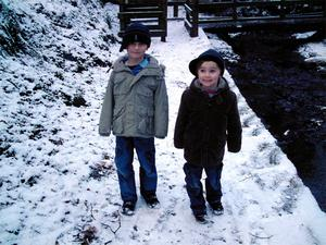 Caption: Eoghan and Ronan, Cregagh Glen, Submitted by Bob McKeown,  Belfast